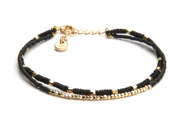 Knot Knot - Black & Gold