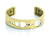 Bangle Gold 14K - SolarDots 15mm