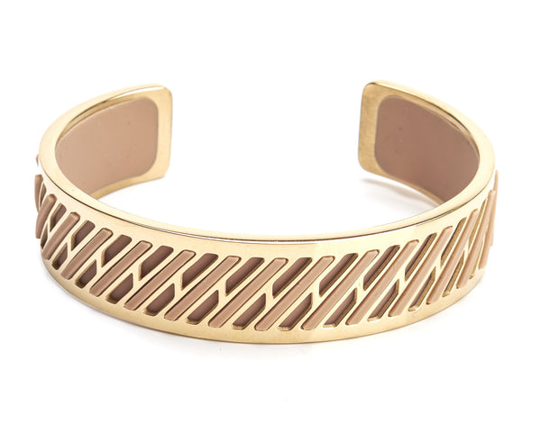 Bangle Gold 14K - Pixel 15mm