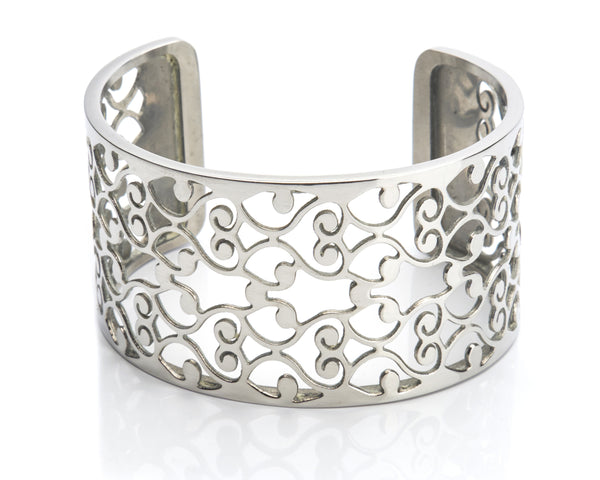 Bangle Stainless Steel - Filigree 35mm