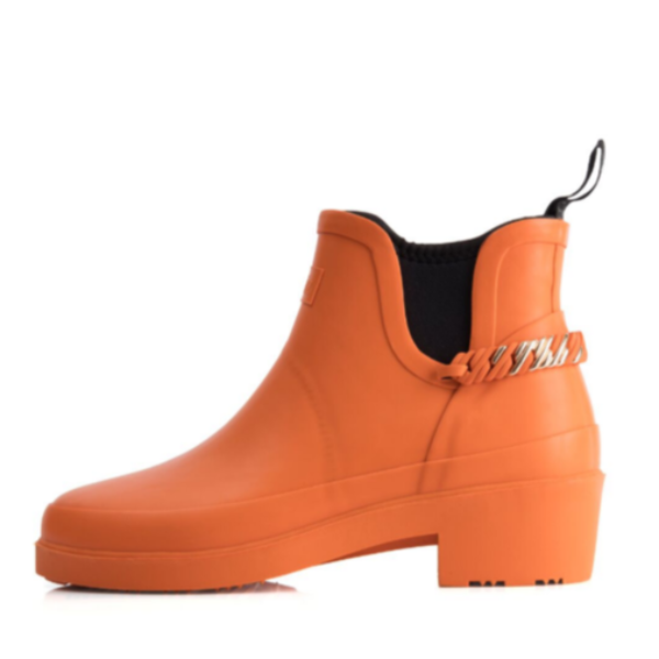 RubzBoots - Orange & Rose Gold