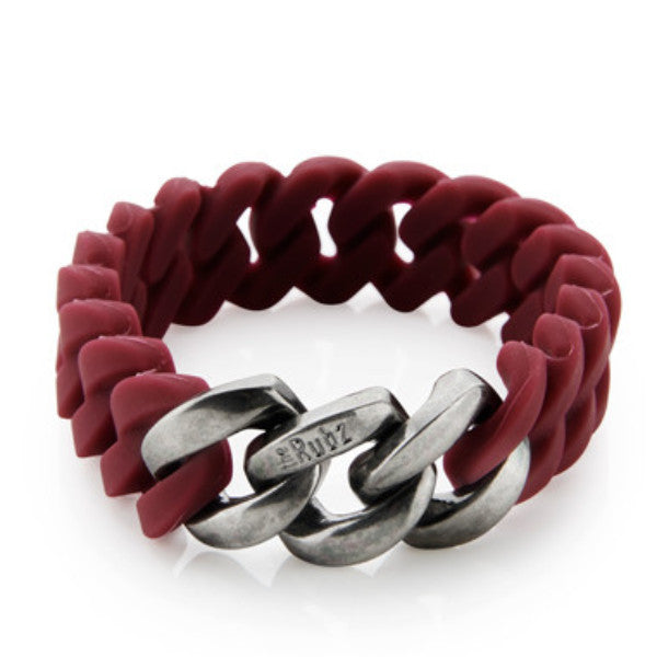 Classic Mini - Red Wine & Antique Silver, The Rubz