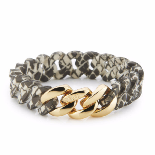 ClassicMINI- Snake Print & Soft Gold, The Rubz