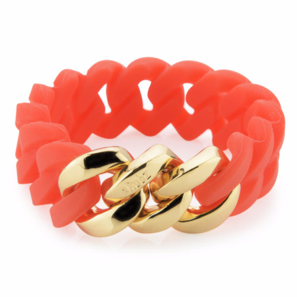 Classic20mm - Candle Red & Soft Gold, The Rubz