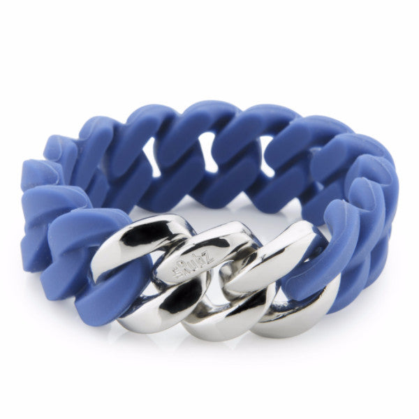 Classic20mm - Indigo Blue & Silver, The Rubz