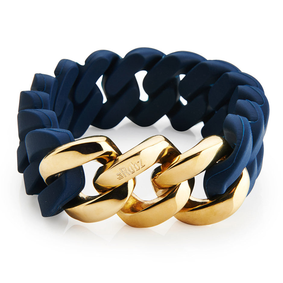 Classic20mm - Navy & Gold, The Rubz