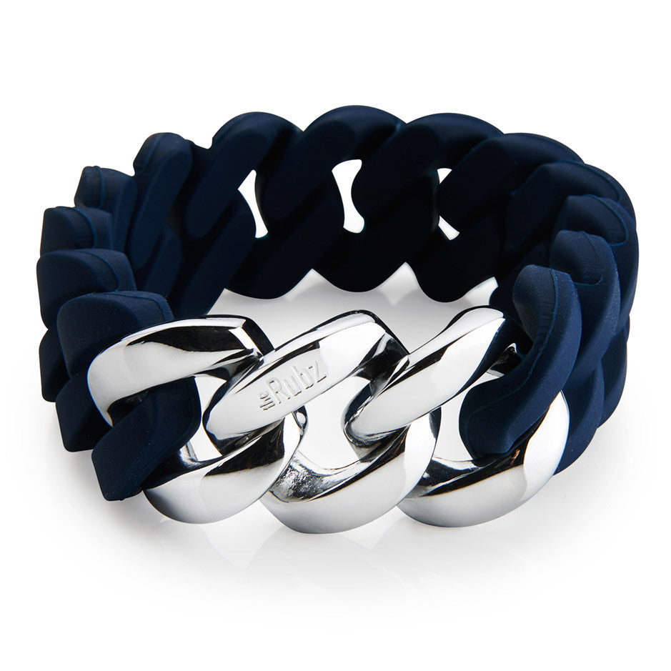 Classic20mm - Navy & Silver, The Rubz