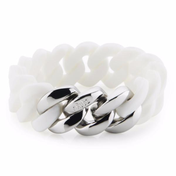 Classic20mm - White & Silver, The Rubz