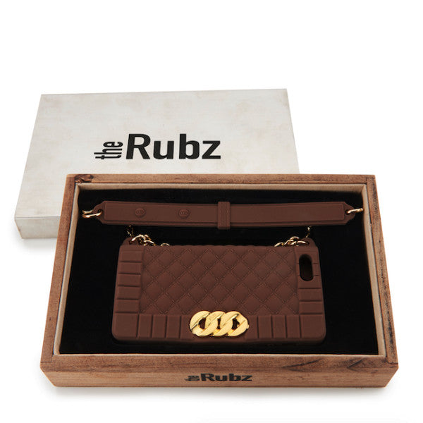 Iphone Cover - Cognac Silicone / Rosegold, The Rubz