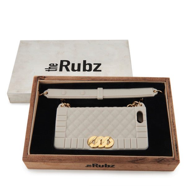 Iphone Cover - Desert Sand Silicone / Gold, The Rubz