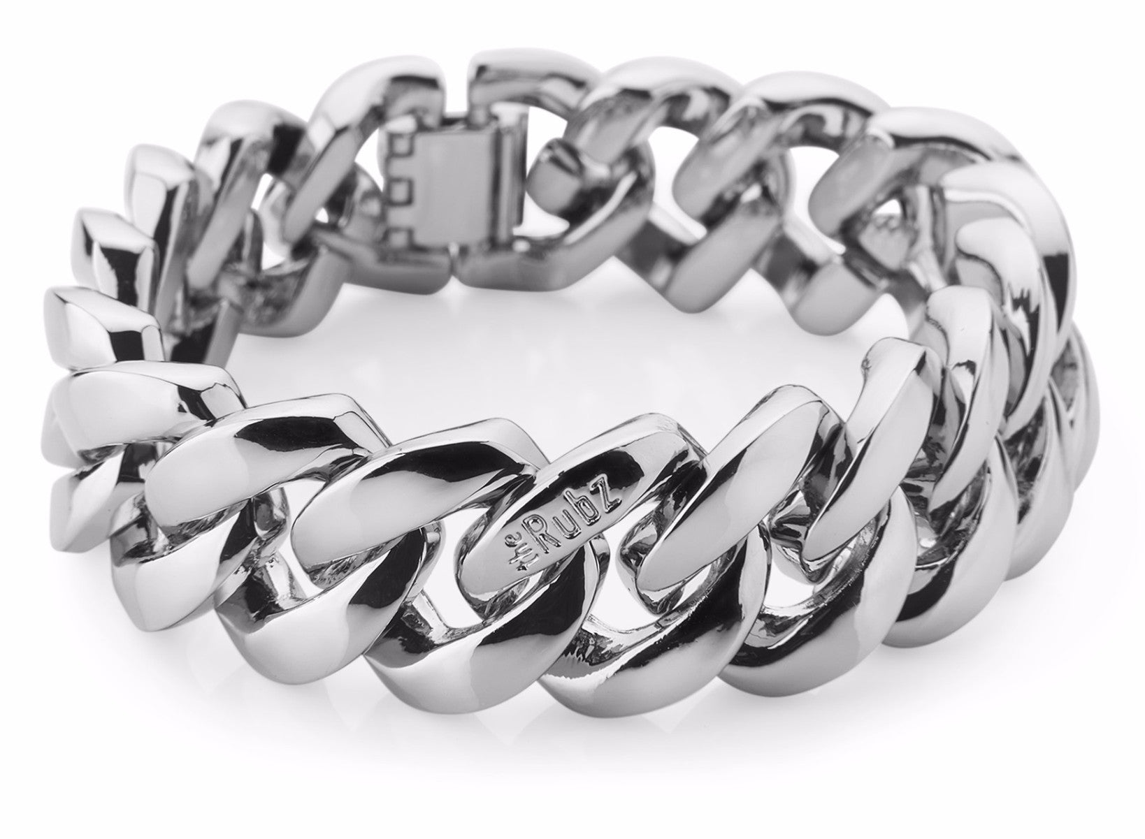 Mens ClassicMetal - Shiny Silver, The Rubz