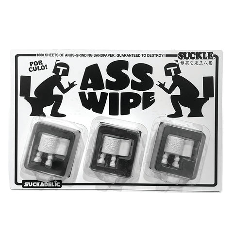 SUCKLE ASS WIPE 3 Pack