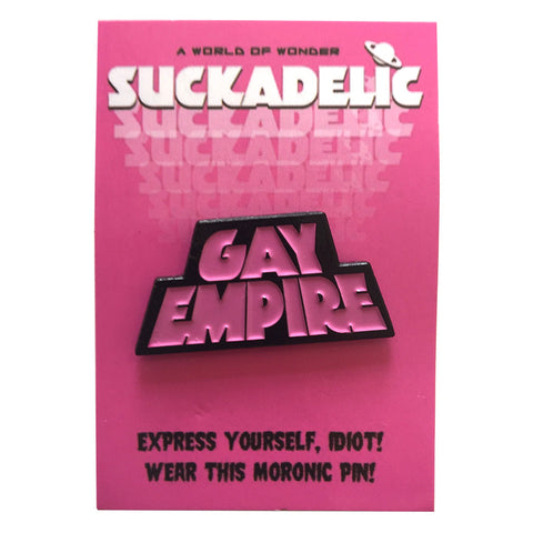 GAY EMPIRE Enamel Pin