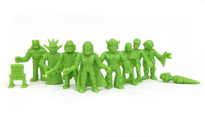 "S.UC.K.L.E ""THE REVENGE"" Mini figures: Green"