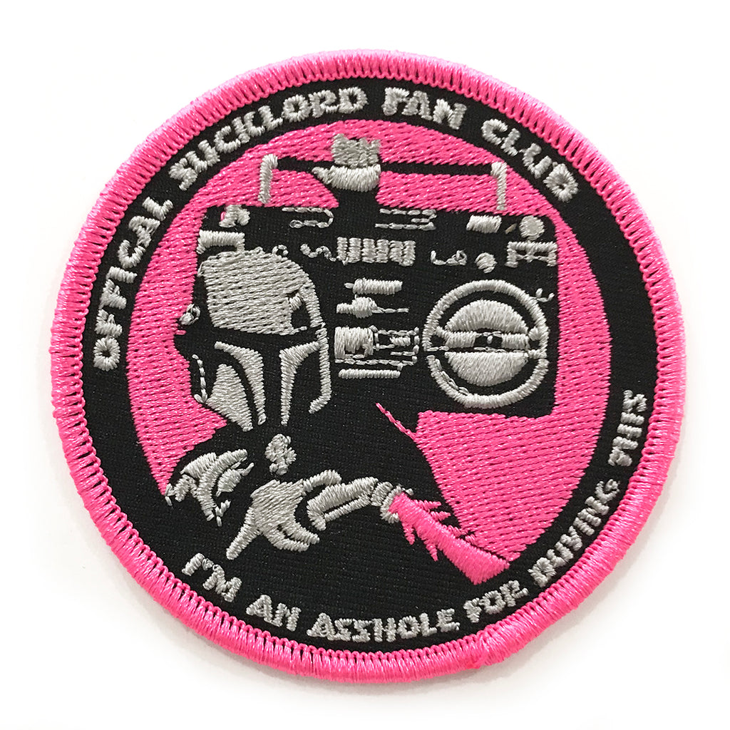 SUCKLORD FAN CLUB Iron-On Patch
