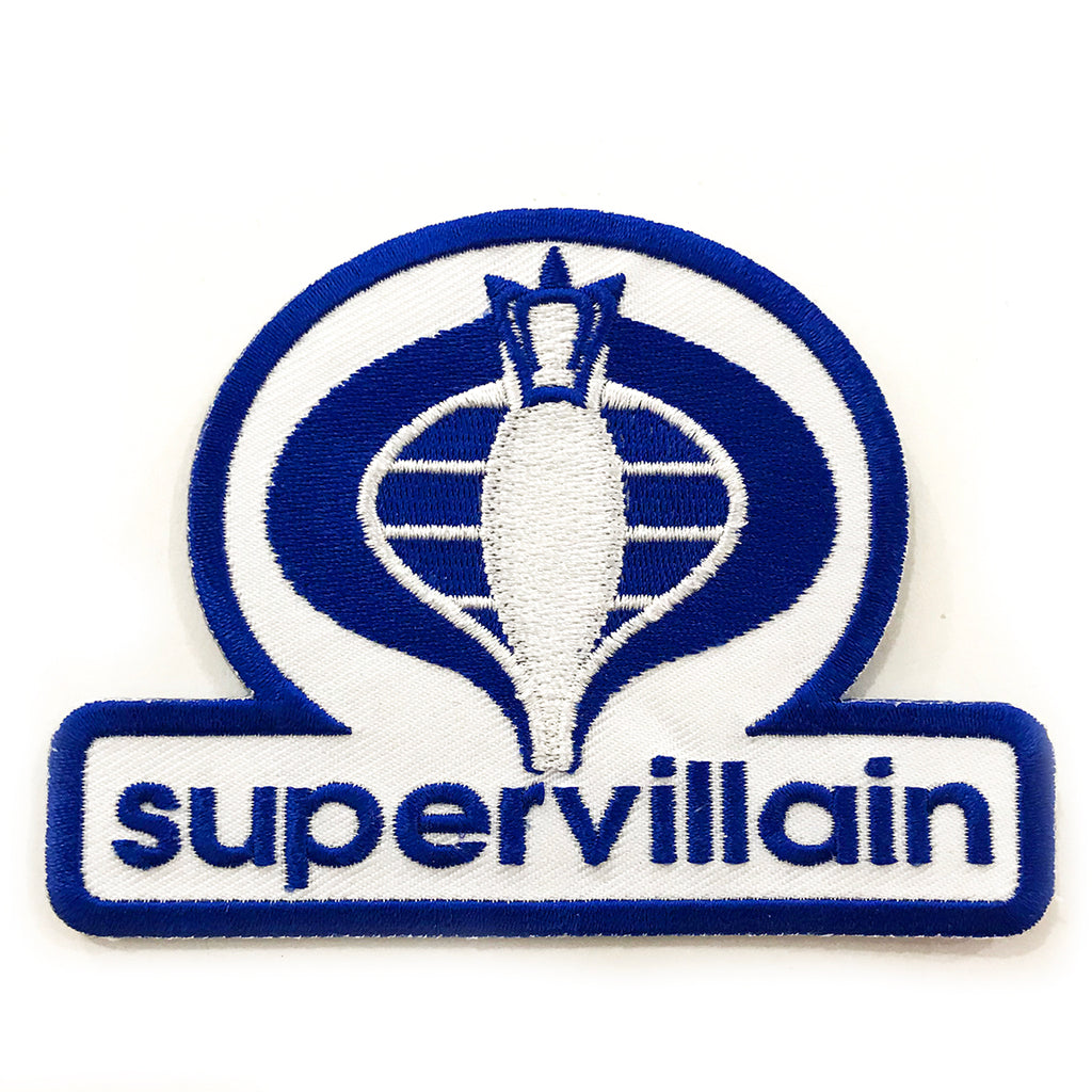 SUPERVILLAIN Iron-On Patch