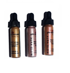 Highlighter liquid drops