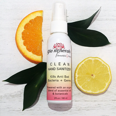 Hand Sanitizer - Clean & Organic