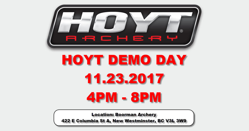 HOYT DEMO DAY - 2018 Product Line