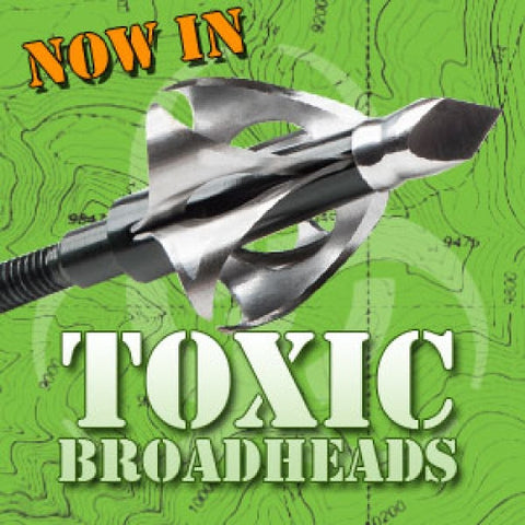 Flying Arrow Toxic Broadhead