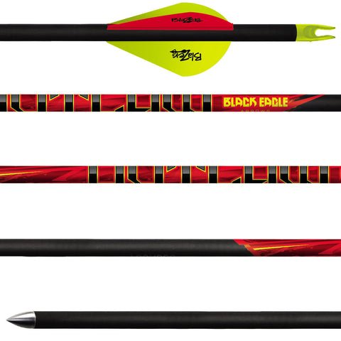 Black Eagle - Outlaw Fletched Arrows