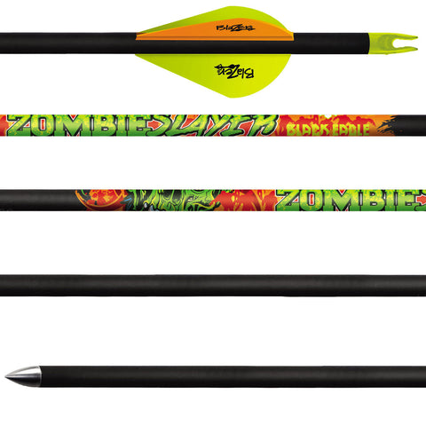 Black Eagle - Zombie Slayer Fletched Arrows