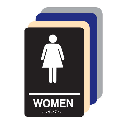 Women ADA Restroom Sign