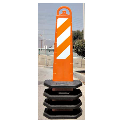 Vertical Indicator Panel Base - U.S. Signs and Safety
