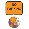 Snap On Cone Signs - U.S. Signs and Safety - 1
