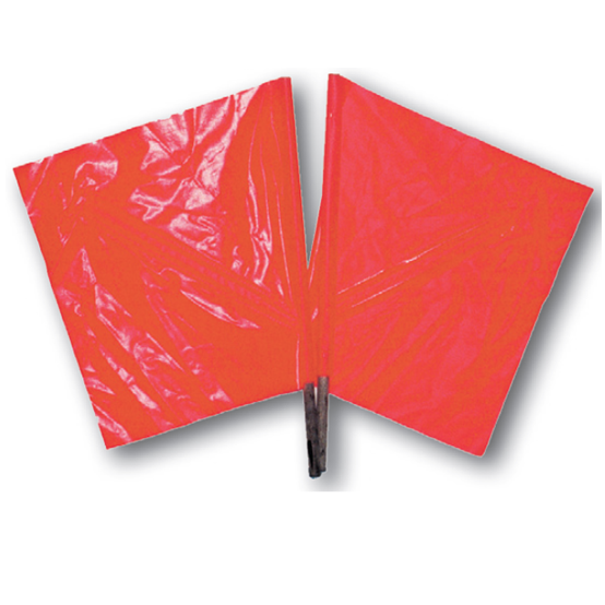 Safety Flags with Wooden Dowel - U.S. Signs and Safety