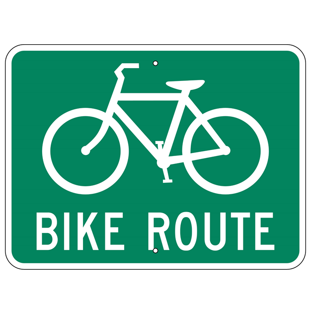 Bike Route Sign - U.S. Signs and Safety