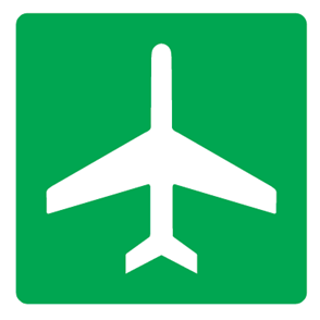 Airport Symbol Sign - U.S. Signs and Safety