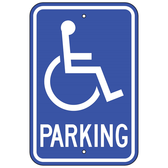 Handicap Parking Sign - U.S. Signs and Safety