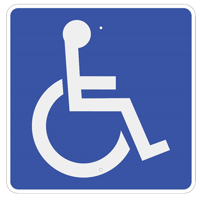 Handicap Symbol Sign - U.S. Signs and Safety