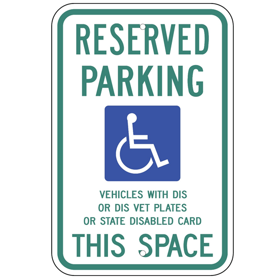 Wisconsin-Reserved Parking Sign - U.S. Signs and Safety