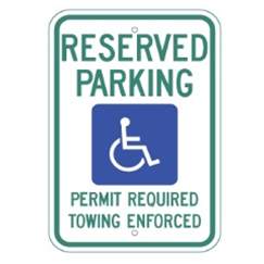 Arkansas-Reserved Parking Sign - U.S. Signs and Safety