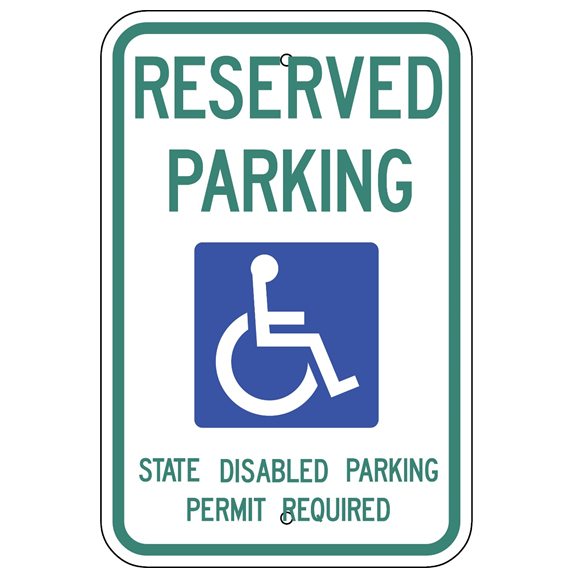 Washington-Reserved Parking Sign - U.S. Signs and Safety