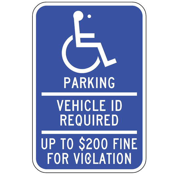 Minnesota-Handicap Parking Sign - U.S. Signs and Safety