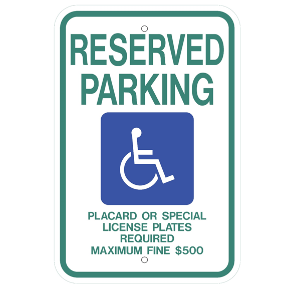 Hawaii-Reserved Parking Sign - U.S. Signs and Safety