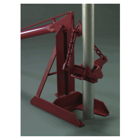 Post Puller - Jack Base And Heavy Duty Handle (puller chain not included) - U.S. Signs and Safety