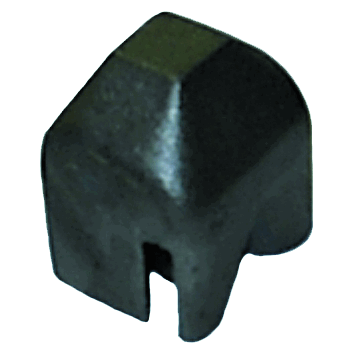 Drive Cap - Heavy Duty forged steel drive cap for 2 lb. U-channel sign posts - U.S. Signs and Safety