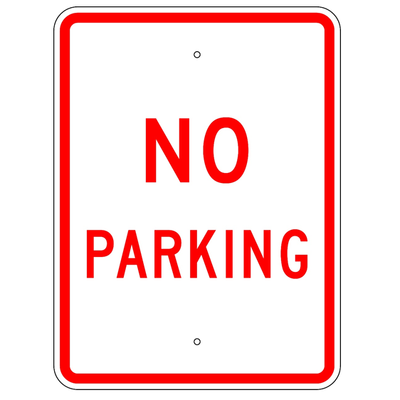 No Parking Sign - U.S. Signs and Safety
