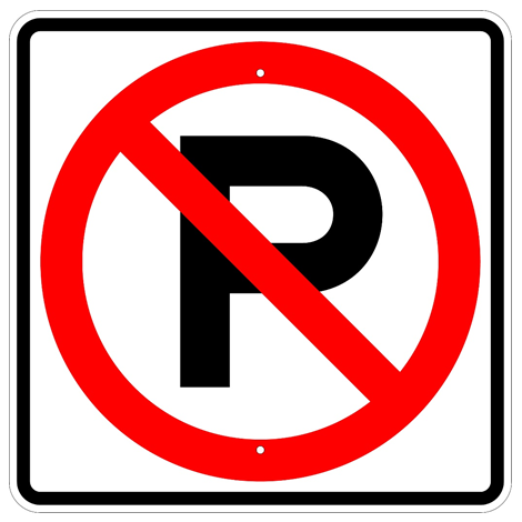 No Parking Symbol Sign - U.S. Signs and Safety