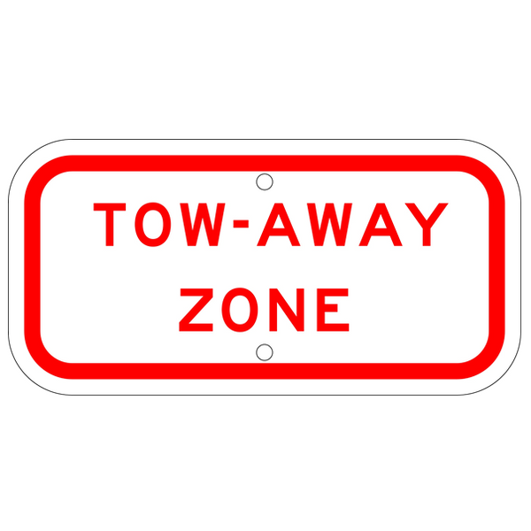 Tow-Away Zone Sign - U.S. Signs and Safety