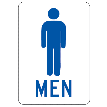Men Sign - U.S. Signs and Safety
