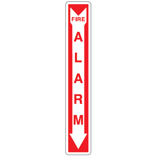 Fire Alarm Sign - U.S. Signs and Safety