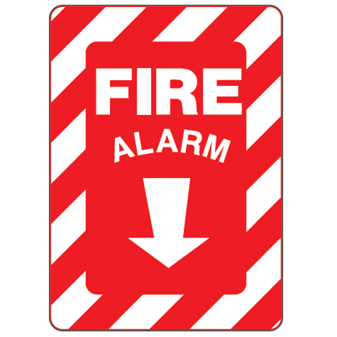 Fire Alarm Sign - U.S. Signs and Safety - 1