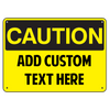 Caution OSHA Sign - U.S. Signs and Safety - 1