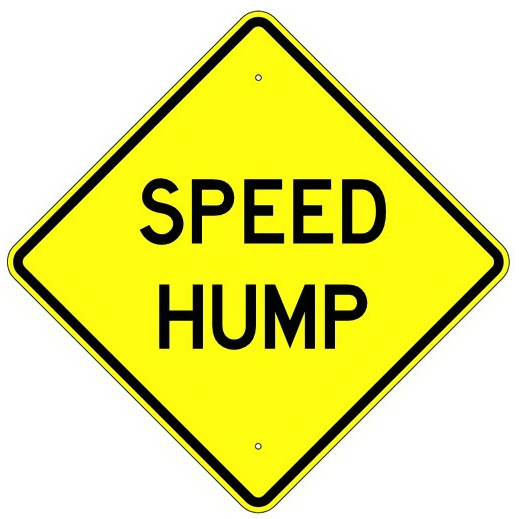 Speed Hump Sign - U.S. Signs and Safety
