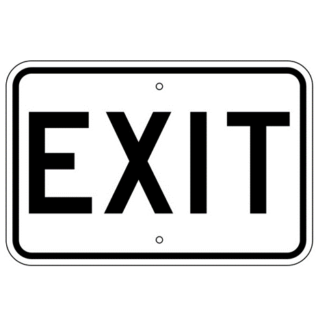 Exit Sign - U.S. Signs and Safety